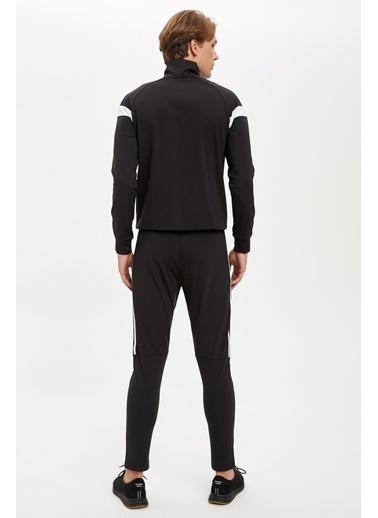 Defacto –Fit Şerit Detaylı Slim Fit Eşofman Altı Siyah
